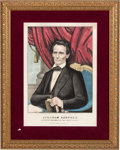 Political:Posters & Broadsides (pre-1896), Abraham Lincoln: Mint Condition Currier & Ives Print.. ...