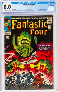 Fantastic Four #49 (Marvel, 1966) CGC VF 8.0 Off-white to white pages