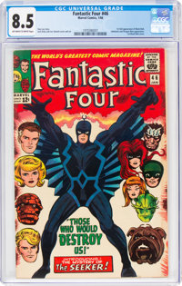 Fantastic Four #46 (Marvel, 1966) CGC VF+ 8.5 Off-white to white pages