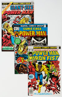 Power Man and Iron Fist Group of 28 (Marvel, 1974-78) Condition: Average NM-.... (Total: 28 Comic Books)