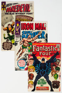 Marvel Silver Age Group of 7 (Marvel, 1965-68) Condition: Average VG.... (Total: 7 )