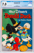 Golden Age (1938-1955):Cartoon Character, Donald Duck #26 (Dell, 1952) CGC FN/VF 7.0 Cream to off-white pages....