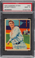 Baseball Cards:Singles (1930-1939), 1934-36 Diamond Stars Jim Bottomley (1935) #59 PSA Mint 9 - Pop Four, None Higher. ...