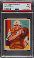 Baseball Cards:Singles (1930-1939), 1934-36 Diamond Stars Jimmie Foxx (1935) #64 PSA Mint 9 - Pop Five, None Higher. ...