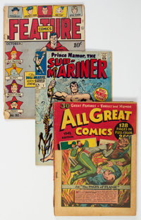 Golden-Bronze Age Comics Group of 36 (Various Publishers, 1945-72) Condition: Average PR.... (Total: 36 Comic Books)