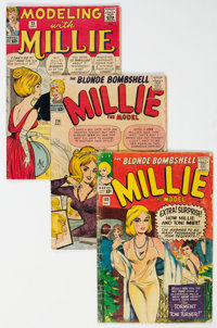 Millie-Related Group of 10 (Marvel, 1960s) Condition: Average GD.... (Total: 10 Comic Books)