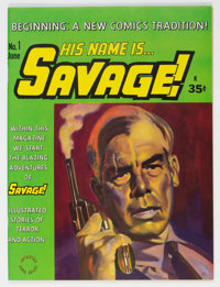 His Name is Savage #1 (Adventure House Press, 1968) Condition: VF/NM