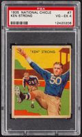 Football Cards:Singles (Pre-1950), 1935 National Chicle Ken Strong #7 PSA VG-EX 4....