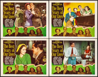 "The Best Years of Our Lives (RKO, 1946). Very Fine. Lobby Cards (4) (11"" X 14""). Drama. ... (Total: 4 Items)"