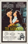 "Movie Posters:Romance, The Rainmaker (Paramount, 1956). Folded, Very Fine. One Sheet (27"" X 41""). Romance.. ..."
