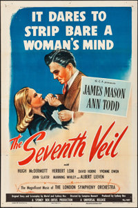 "The Seventh Veil (Universal, 1946). Folded, Fine/Very Fine. One Sheet (27"" X 41""). Drama"
