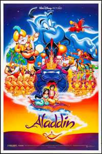 Aladdin & Other Lot (Buena Vista, 1992). Rolled, Overall: Very Fine+. One Sheets (4) & International One Sheet (...