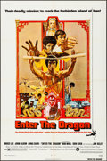 "Movie Posters:Action, Enter the Dragon (Warner Brothers, 1973). Folded, Very Fine-. One Sheet (27"" X 41""). Bob Peak Artwork. Action.. ..."