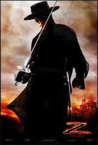 """The Legend of Zorro (Columbia, 2005). Rolled, Very Fine. One Sheets (2) (26.75"""" X 39.75"""") DS, Advance, 2 Style..."""