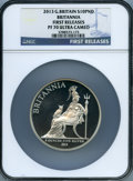 "Great Britain, Great Britain: Elizabeth II silver Proof ""Britannia"" 10 Pounds 2013 PR70 Ultra Cameo NGC,..."