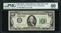 Small Size:Federal Reserve Notes, Fr. 2153-B $100 1934A Mule Federal Reserve Star Note. PMG Extremely Fine 40.. ...