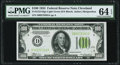 Small Size:Federal Reserve Notes, Fr. 2152-D $100 1934 LGS Federal Reserve Note. PMG Choice Uncirculated 64 EPQ.. ...