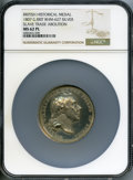 """World Lots, World Lots: """"Slave Trade Abolition"""" silver Medal 1807 MS62 Prooflike NGC,..."""