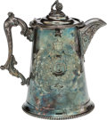 Political:3D & Other Display (pre-1896), Abraham Lincoln: Britannia Ice Pitcher. . ...