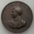 "World Lots, World Lots: ""George, Prince Regent - Algiers Bombardment"" bronze Medal 1816 UNC,..."