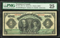 World Currency, Canada Dominion of Canada $1 3.1.1911 DC-18c PMG Very Fine 25.. ...