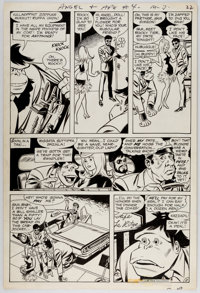 Bob Oksner and Wally Wood Angel and the Ape #4 Story Page 2 Original Art (DC Comics, 1969)
