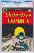 Golden Age (1938-1955):Superhero, Detective Comics #94 (DC, 1944) CGC NM 9.4 Off-white to white pages....
