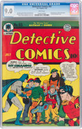 Golden Age (1938-1955):Superhero, Detective Comics #65 (DC, 1942) CGC VF/NM 9.0 White pages....