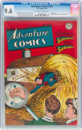 Golden Age (1938-1955):Superhero, Adventure Comics #104 (DC, 1946) CGC NM+ 9.6 Off-white to white pages....