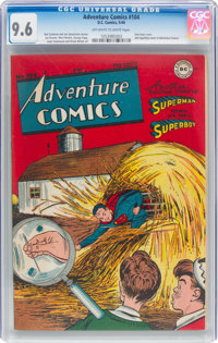 Adventure Comics #104 (DC, 1946) CGC NM+ 9.6 Off-white to white pages