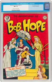 The Adventures of Bob Hope #11 Palo Alto pedigree (DC, 1951) CGC NM- 9.2 Cream to off-white pages
