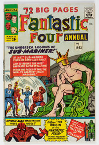 Fantastic Four Annual #1 (Marvel, 1963) Condition: Apparent VF