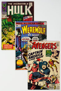 Marvel Silver and Bronze Age Comics Group of 6 (Marvel, 1960s-70s).... (Total: 6 Comic Books)