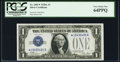 Fr. 1601* $1 1928A Silver Certificate Star. PCGS Very Choice New 64PPQ