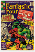 Silver Age (1956-1969):Superhero, Fantastic Four #25 (Marvel, 1964) Condition: VG+....