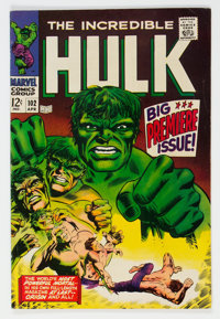 The Incredible Hulk #102 (Marvel, 1968) Condition: FN-