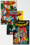 Silver Age (1956-1969):Superhero, The Amazing Spider-Man Group of 11 (Marvel, 1968-71) Condition: Average VF.... (Total: 11 Comic Books)