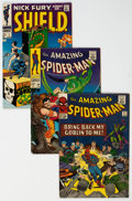 Silver Age (1956-1969):Superhero, The Amazing Spider-Man Group of 19 (Marvel, 1965-75) Condition: Average FN.... (Total: 19 Comic Books)