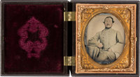 Rare Confederate Private Ambrotype