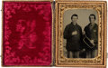 Photography:Tintypes, Ohio Cavalry Bugler Tintype.. ...
