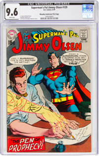 Superman's Pal Jimmy Olsen #129 Murphy Anderson File Copy (DC, 1970) CGC NM+ 9.6 White pages