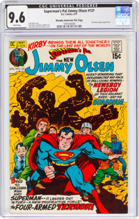 Superman's Pal Jimmy Olsen #137 Murphy Anderson File Copy (DC, 1971) CGC NM+ 9.6 White pages
