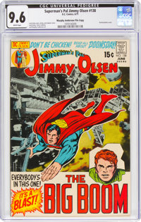 Superman's Pal Jimmy Olsen #138 Murphy Anderson File Copy (DC, 1971) CGC NM+ 9.6 White pages