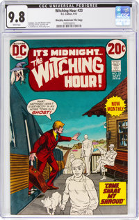 The Witching Hour #23 Murphy Anderson File Copy (DC, 1972) CGC NM/MT 9.8 White pages
