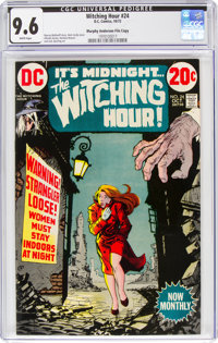 The Witching Hour #24 Murphy Anderson File Copy (DC, 1972) CGC NM+ 9.6 White pages