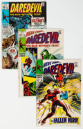 Silver Age (1956-1969):Superhero, Daredevil Group of 19 (Marvel, 1968-82) Condition: Average VG.... (Total: 19 )
