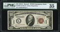Small Size:World War II Emergency Notes, Fr. 2303 $10 1934A Hawaii Federal Reserve Note. PMG Choice Very Fine 35.. ...