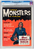 Magazines:Horror, Famous Monsters of Filmland #2 (Warren, 1958) CGC FN/VF 7.0 White pages....