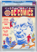 Magazines:Fanzine, Amazing World of DC Comics #3 (DC, 1974) CGC NM/MT 9.8 White pages....