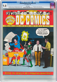 Amazing World of DC Comics #10 (DC, 1976) CGC NM/MT 9.8 White pages